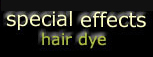 Special Effects Hair Dye $9.99, Special Effects Hair Color, Special Effects